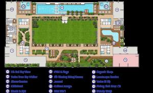 Tiện ích mặt bằng tầng 5 dự án Green Star Sky Garden